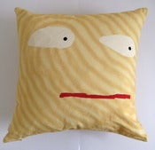 Image of Eyes hemp cushion