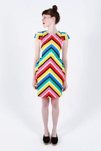 Image of Jean-Charles de Castelbajac Multi Stripe Dress