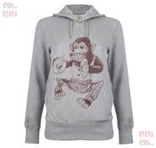 Image of Monkey Grey Hoody (Girls Organic)
