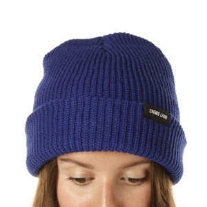 Image of Crewd Livin beanie (royal blue)