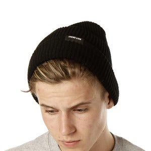 Image of Crewd Livin beanie (black)