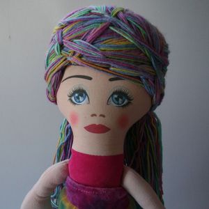 Image of Semi-custom Cloth Doll