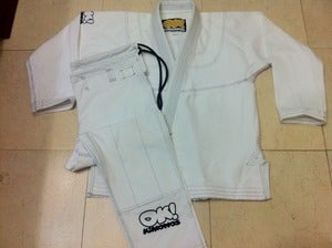 Image of Basic Kids Jiu Jitsu gi (White - IN STOCK)