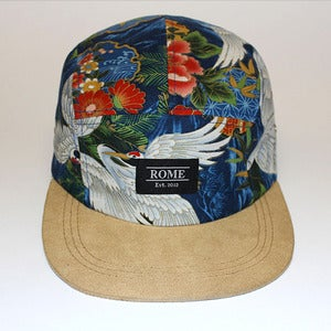 Image of ROME Blue Crowned Crane 5 panel