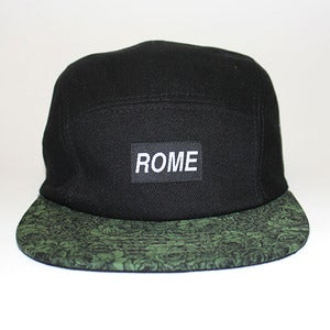 Image of ROME Floral Series Green Brim