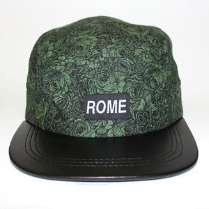 Image of ROME Floral Series Green full Body 5 panel