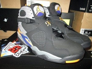"Image of Air Jordan VIII (8) Retro ""Bright Citrus/Deep Royal"""