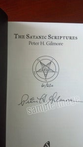 "Image of Signed Slipcase ""The Satanic Scriptures"""