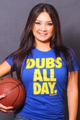 Image of Dubs All Day. (womens)