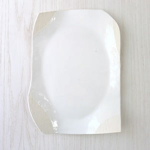 Image of white platter #18
