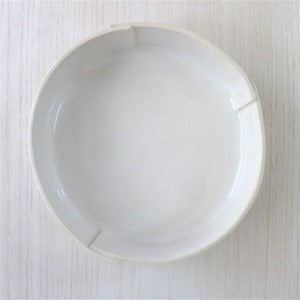 Image of white serving bowl #19
