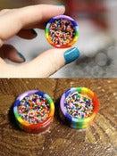 Image of Rainbow Sprinkle Plugs