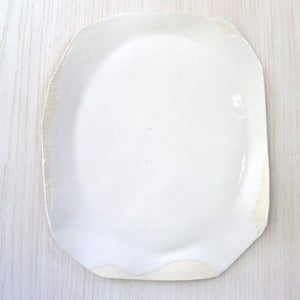 Image of large white platter #31