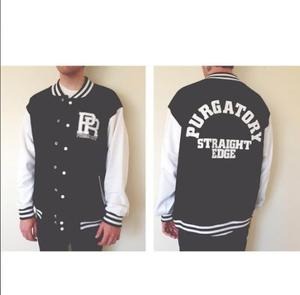 Image of Purgz Straight Edge Varsity Jacket - Preorder