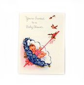Image of {You're Invited} – Vintage Baby Shower Card g101