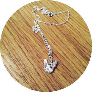 Image of Oh La La French Bulldog Dog Necklace