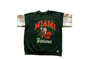 "Image of D.Fame ""Miami Hurricanes"" Crewneck"