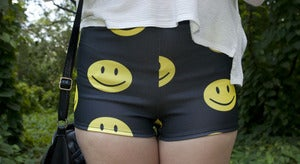 Image of Smiley Face Shorts
