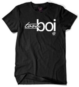 Image of TomBoi Blackout Tee