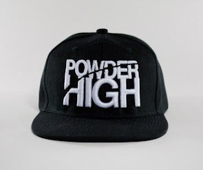 Image of Stacked Snapback - Black/White