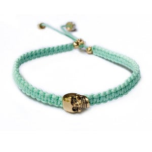 Image of 'Dead Romantics' bracelet, Veiled envy green