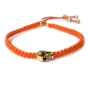 Image of 'Dead Romantics' bracelet, St Tropez Orange