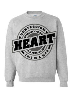 Image of Heart Crew grey