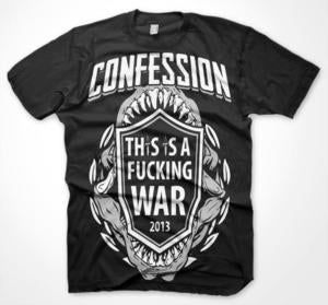 Image of THIS IS A FUCKING WAR Shirt