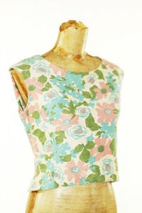 Image of VINTAGE 50s crop top (10)