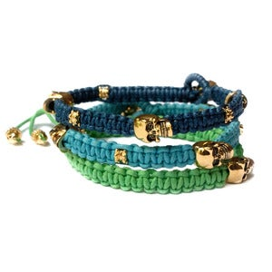 Image of Once in a blue moon 'Nice Stack' set of 3 Bracelets