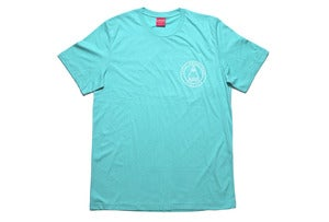Image of Laser OG logo round in Tropical blue