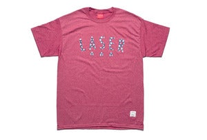 Image of Campamento tee in heather red
