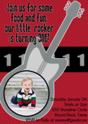Image of Little Rocker Invitation