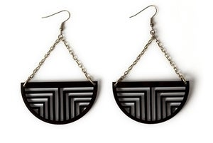 Image of Optical suspension earrings