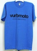 Image of Vurbmoto Heather Lake Blue Tee
