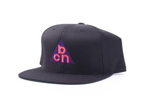 Image of W-BCN Snapback in Black