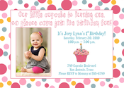 Image of Little Cupcake Invitation