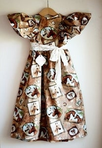 Image of HORSE Vintage Party Frock
