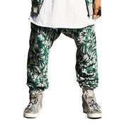Image of ATG - WE GROW WEED TRACKPANTS (GREY MARLE)
