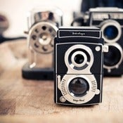 Image of Retro Camera Pencil Sharpener
