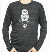 Image of Mens Long Sleeve Owl