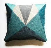Image of Fun Makes Good AU Cushion - Turquoise