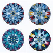 Image of Fun Makes Good Kaleidoscope Tablemat Set