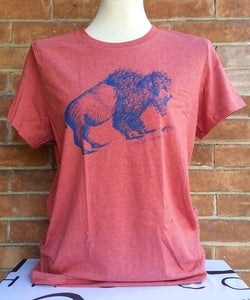 Image of INK BUFFALO - Heathered Red (w)