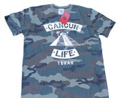 Image of Camo Cancun Life Tshirt