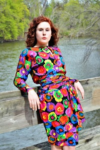 Image of Morgan Vintage 80's Dress