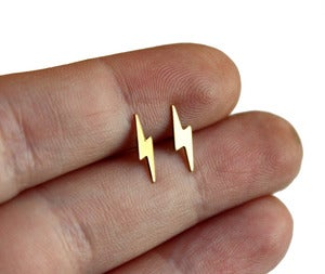 Image of Lightning Bolt Studs