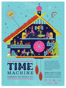 Image of Time Machine Benefit Poster