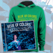 Image of Blue of Colors<br>'Small Little Pieces'<br>CD & Hoodie (Kelly Green)
