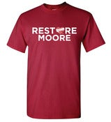 Image of Restore Moore - Crimson & Orange
